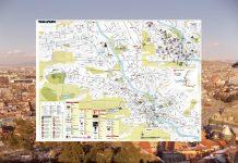 Карта Тбилиси на русском