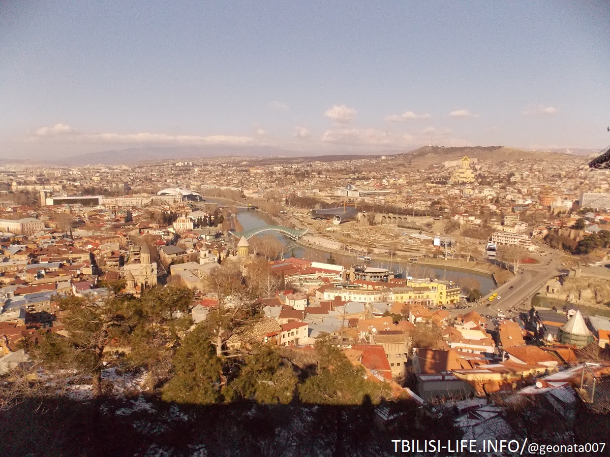 Районы Тбилиси