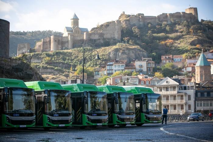 Автобусы Тбилиси