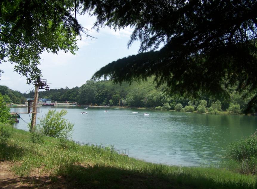 Черепашье озеро - где покупаться в Тбилиси