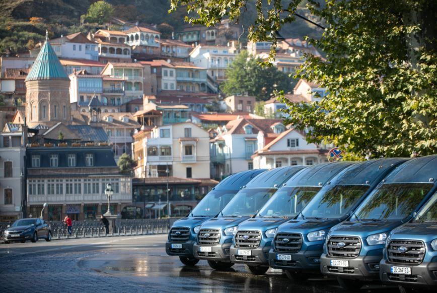 Маршрутки Тбилиси