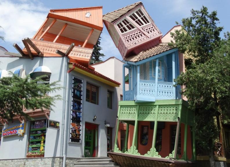 Район Мтацминда в Тбилиси