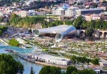 Лучшие парки Тбилиси - Рике