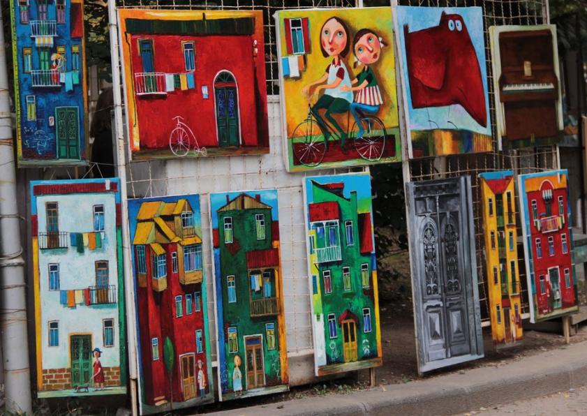 Сувениры из Тбилиси - картины