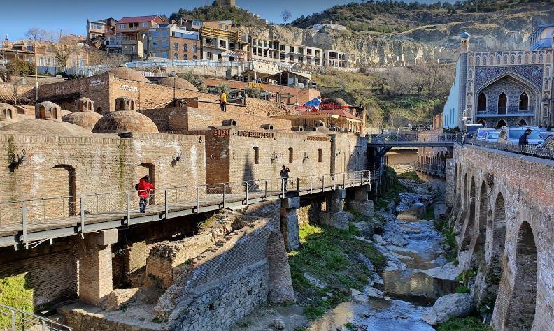Ираклиевская баня Тбилиси