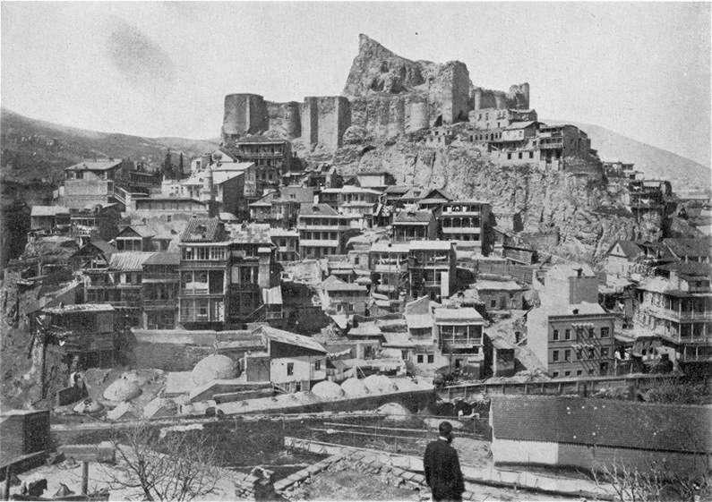 История крепости Нарикала