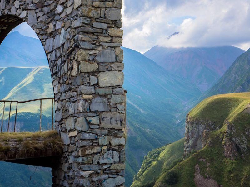 Из Тбилиси на Казбек