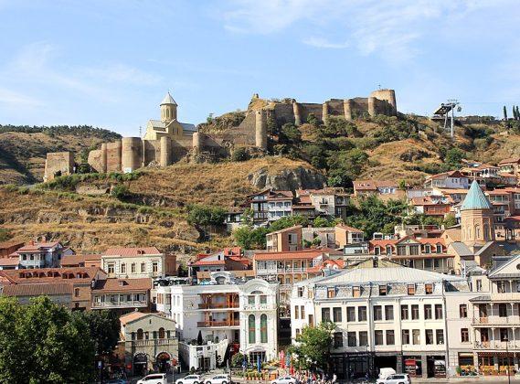 Нарикала в Тбилиси