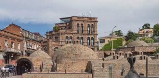 Серные бани Тбилиси