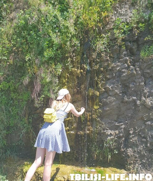 Водопад в парке Рике