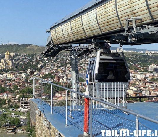 Канатная дорога Нарикала в Тбилиси