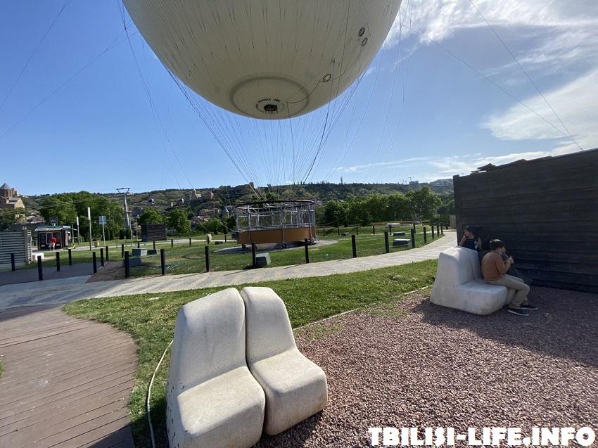 Парк Рике и воздушный шар