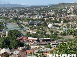 Тбилиси в августе