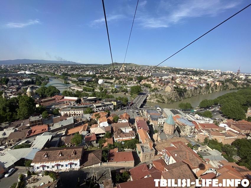 Тбилиси - канатная дорога на Нарикалу