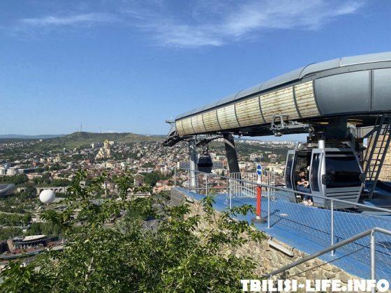Тбилиси канатная дорога Нарикала