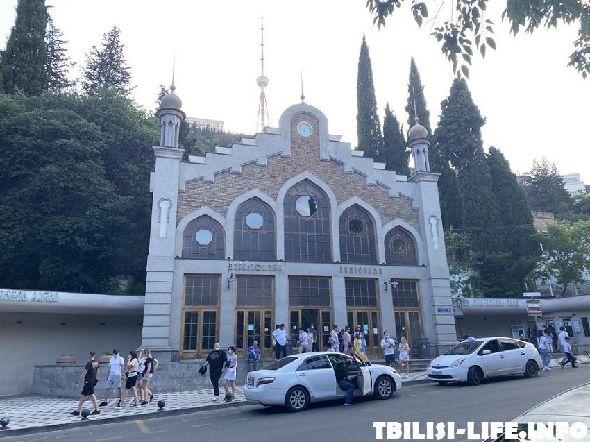 Тбилисский фуникулер