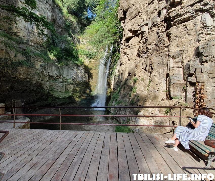 Водопад Легвтахеви в Тбилиси