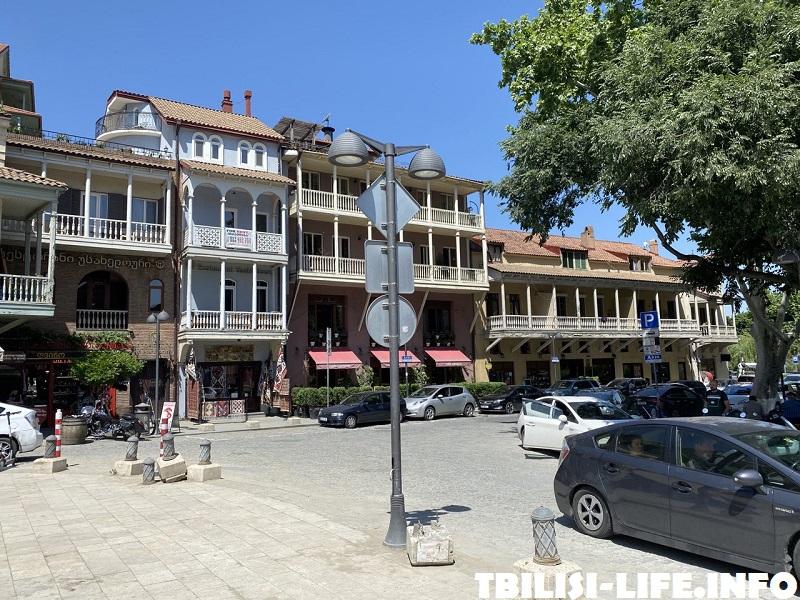 Абанотубани - район, где лучше остановиться в Тбилиси