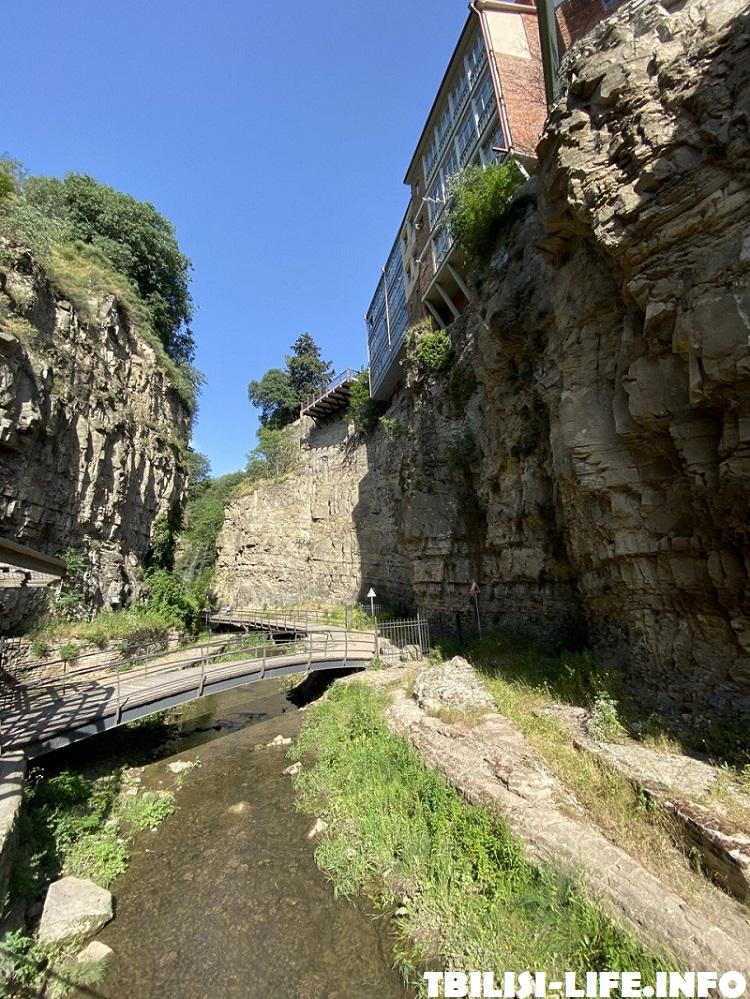 Инжирное ущелье в Тбилиси