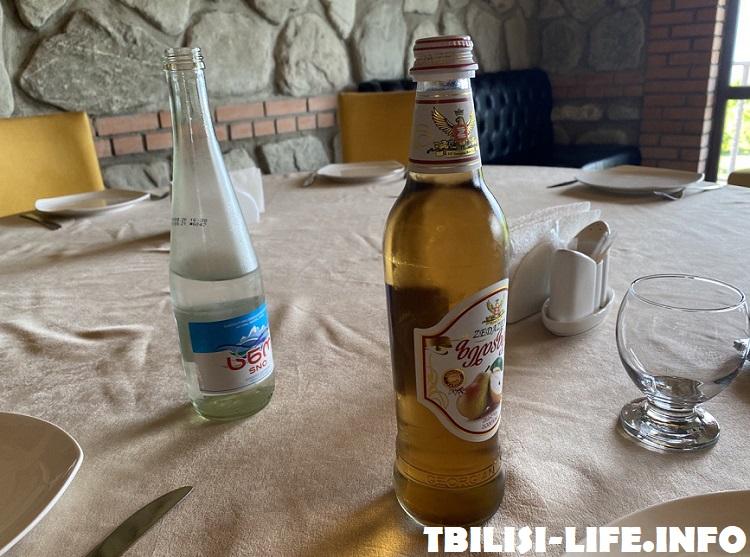 Грузинский лимонад и минералка