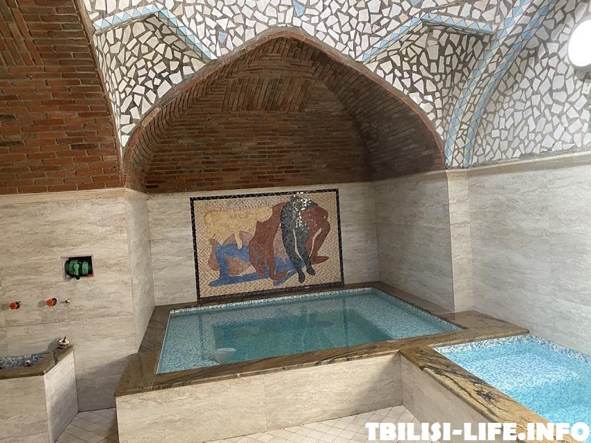 Серная баня Тбилиси