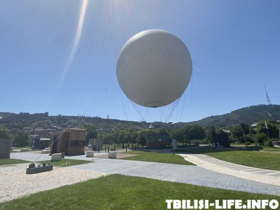 Воздушный шар Тбилиси